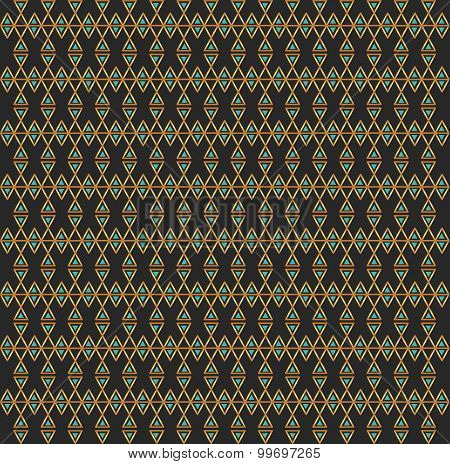 Abstract Seamless Pattern  Gold And Dark Gray1D43F4