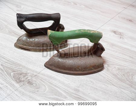 Iron for ironing
