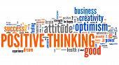 Постер, плакат: Positive Thinking