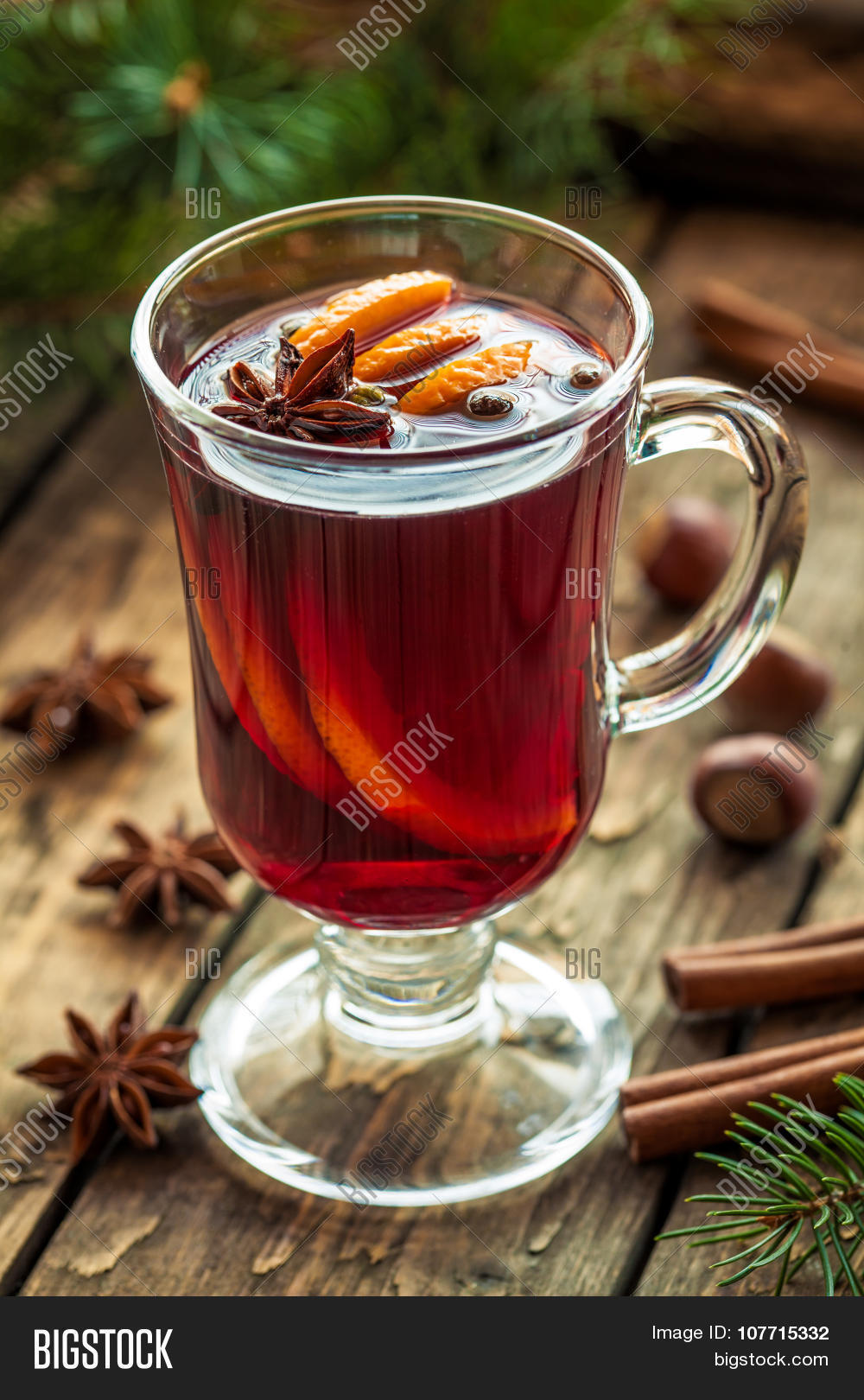 Traditional grog hot alcohol spiced image photo bigstock for Thanksgiving holiday drinks alcohol