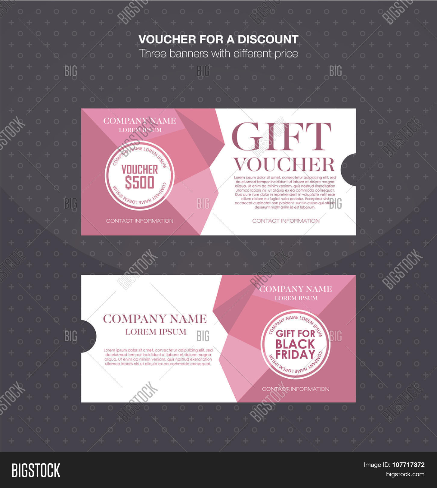 gift voucher template discount card cash coupon gift gift voucher template discount card cash coupon gift certificate vector illustration