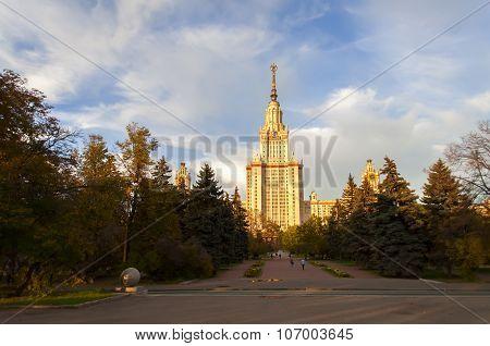 University Of Lomonosov.