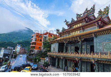 Jiufen, a popular tourist destination in Taiwan