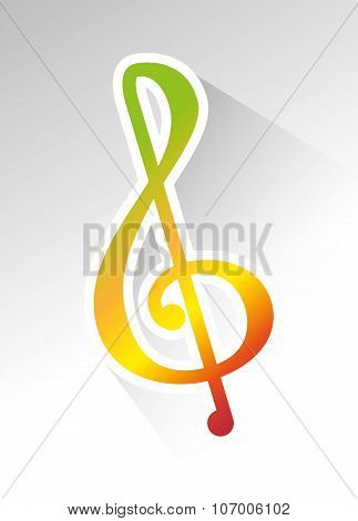 Music melody notes