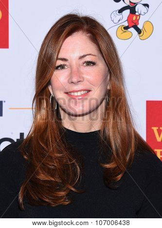 LOS ANGELES - OCT 23:  Dana Delany arrives to the GLSEN Awards 2015 on October 23, 2015 in Hollywood, CA.