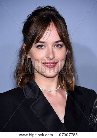 LOS ANGELES - OCT 26:  Dakota Johnson arrives to the InStyle Awards 2015  on October 26, 2015 in Hollywood, CA.