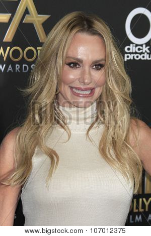 LOS ANGELES - NOV 1:  Taylor Armstrong at the 19th Annual Hollywood Film Awards at the Beverly Hilton Hotel on November 1, 2015 in Beverly Hills, CA