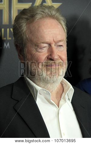 LOS ANGELES - NOV 1:  Ridley Scott at the 19th Annual Hollywood Film Awards at the Beverly Hilton Hotel on November 1, 2015 in Beverly Hills, CA