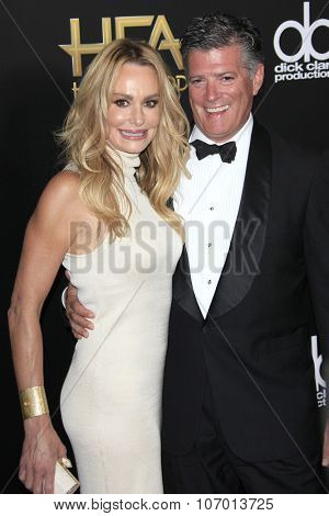 LOS ANGELES - NOV 1:  Taylor Armstrong, John Bluher at the 19th Annual Hollywood Film Awards at the Beverly Hilton Hotel on November 1, 2015 in Beverly Hills, CA