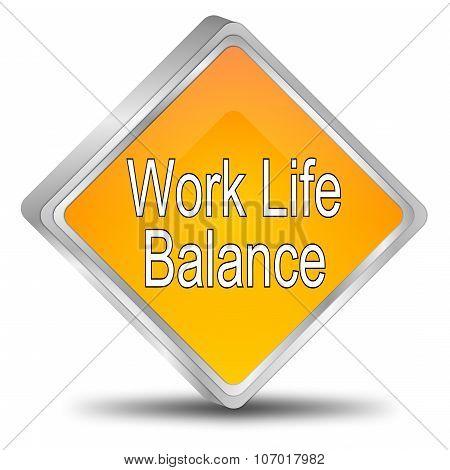 Work Life Balance button