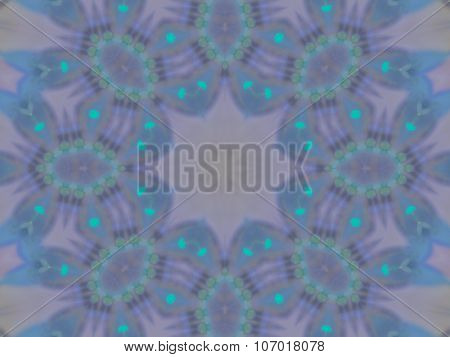 Pattern Of Kaleidoscope Abstract Grey Pattern