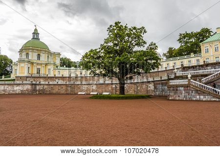 Menshikov Palace (oranienbaum) In The Town Of Lomonosov