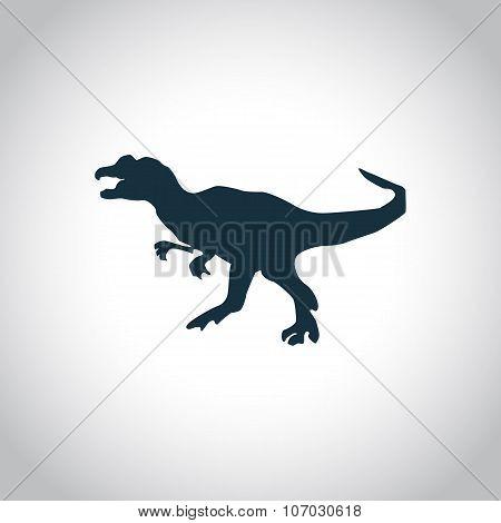 Dinosaurs jurassic animal icon