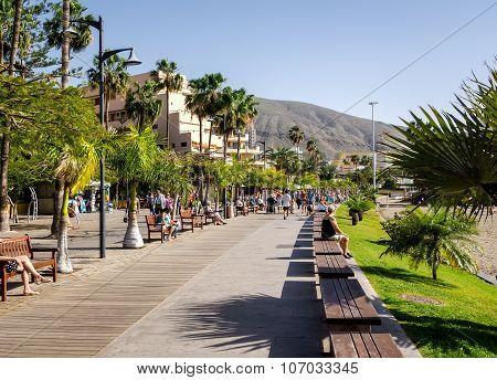 Los Cristianos Promenade