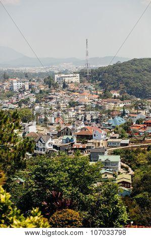 Dalat City View In Vietnam