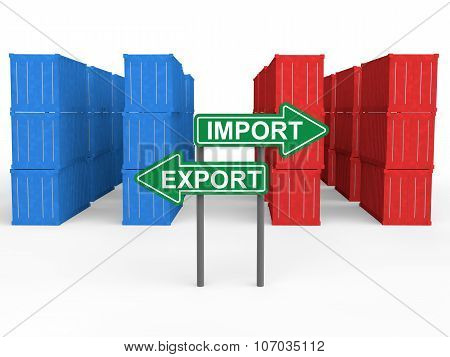 Shipping containers import export