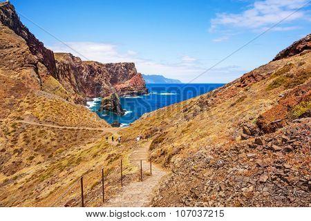 Madeira, Bay At Ponta De Sao Lourenco