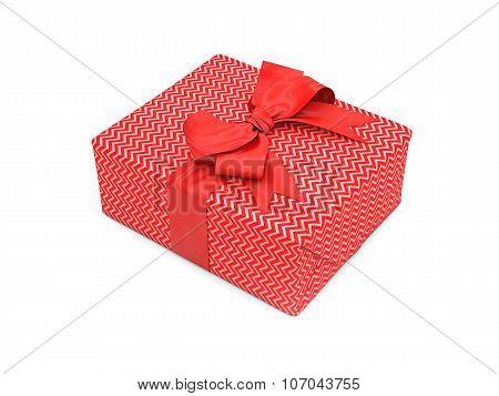 3D Illustration Of Gift Box