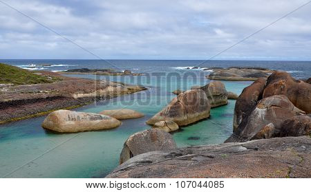 Elephant Rocks: Elephant Cove in William Bay National Park