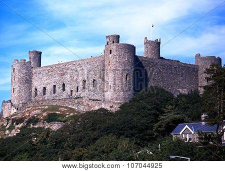 Harlech Castle, Wales.