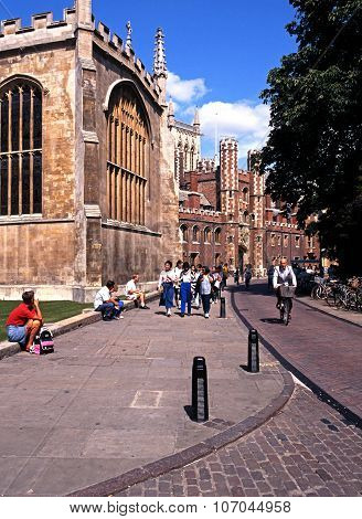 St Johns College, Cambridge.