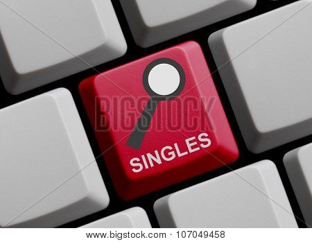Computer Keyboard: Search For Singles