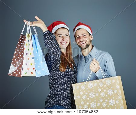 Couple Got Some Gift Bags