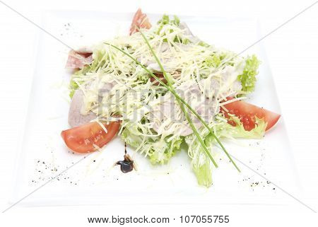 Salad of veal
