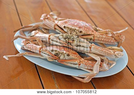 Hot Steamed Crabs Seafood