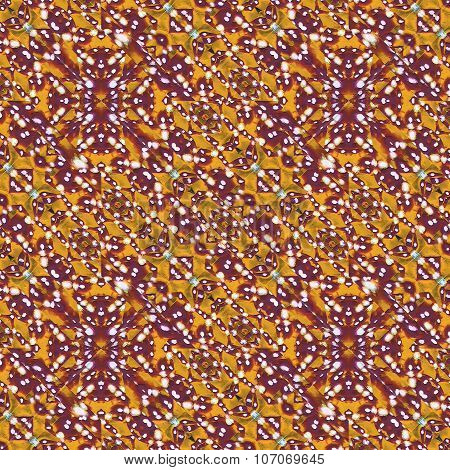 Abstract Intricate Geometric Pattern
