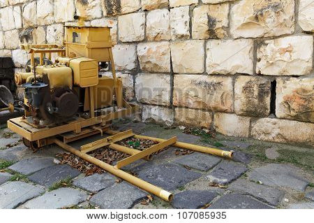 Old Mobile Generator