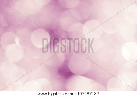 Festive Abstract Blurred White And Lilac Background