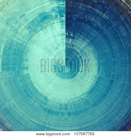 Old texture with delicate abstract pattern as grunge background. With different color patterns: gray; blue; cyan