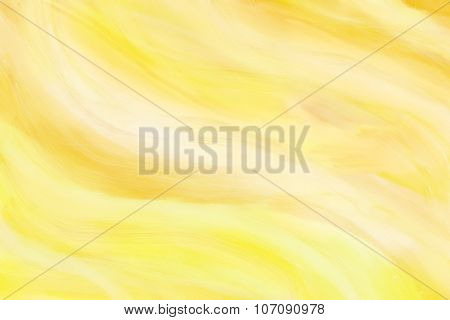 Yellow painted background