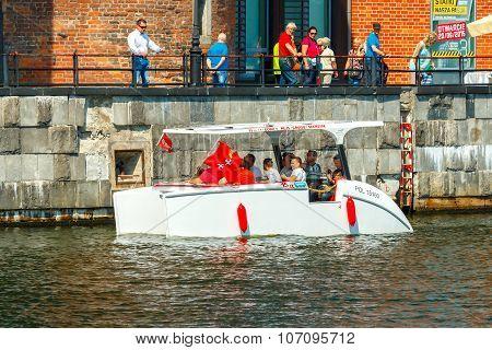 Gdansk. The boat trip.