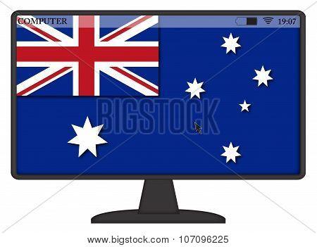 Australian Computer Flag