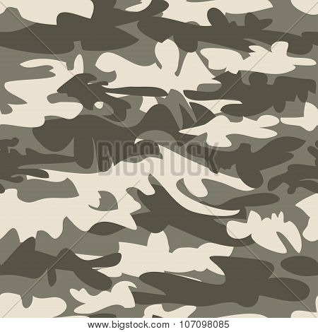 Grey camo seamless vector