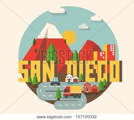 San Diego beautiful city in world