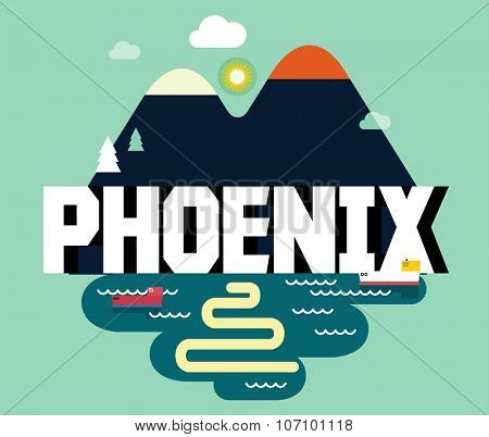 Phoenix beautiful city in world