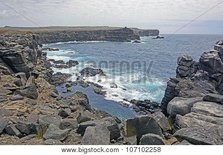 Rocky Volcanic Island Coast