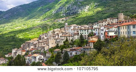 most beautiful villages of Italy series - Barea in Abruzzo