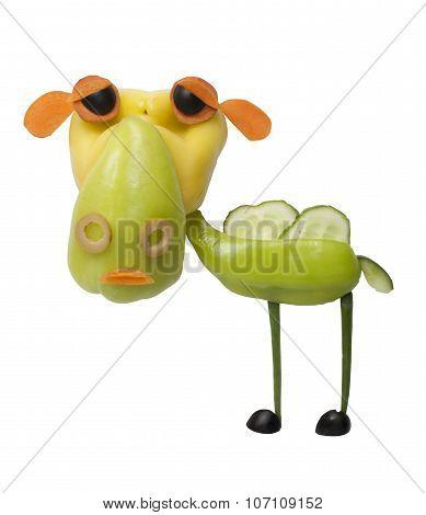 Camel Made Of Vegetables