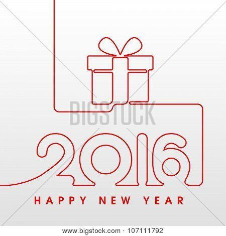 2016 Happy New Year Gift
