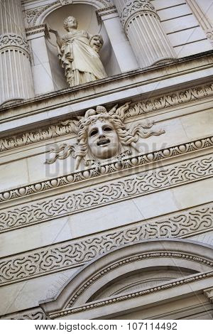 Facade Of French Opera House