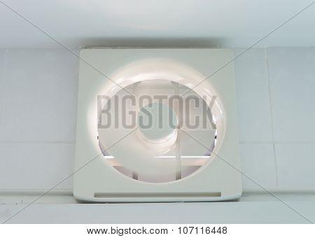 White Plastic Ventilation