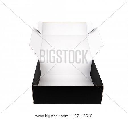 Black  box on a white background