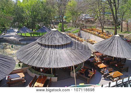 Cafe In Gorky Park