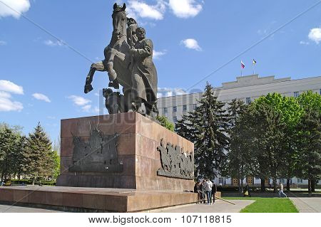 Monument To Red Army Soldiers