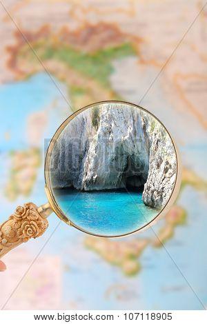 Capri Grotto, Italy