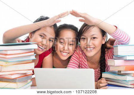 Happy Schoolmates